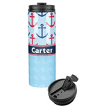 Anchors & Waves Stainless Steel Travel Tumbler (Personalized)