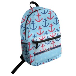 Anchors & Waves Student Backpack (Personalized)
