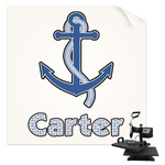 Anchors & Waves Sublimation Transfer (Personalized)