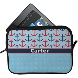 Anchors & Waves Tablet Case / Sleeve (Personalized)