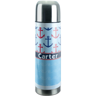 Anchors & Waves Stainless Steel Thermos (Personalized)