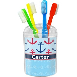 Anchors & Waves Toothbrush Holder (Personalized)