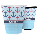 Anchors & Waves Waste Basket (Personalized)