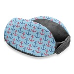 Anchors & Waves Travel Neck Pillow