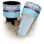Anchors & Waves Beach Spiker Drink Holder (Personalized)