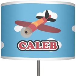 "Airplane 13"" Drum Lamp Shade (Personalized)"