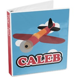 Airplane 3-Ring Binder (Personalized)