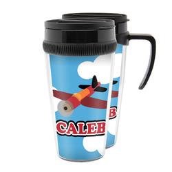 Airplane Acrylic Travel Mugs (Personalized)