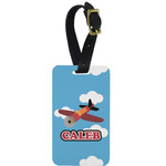 Airplane Aluminum Luggage Tag (Personalized)