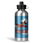 Airplane Water Bottle - Aluminum - 20 oz (Personalized)