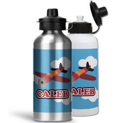 Airplane Water Bottles- Aluminum (Personalized)