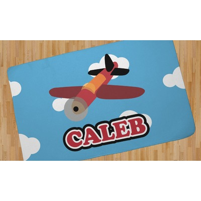 Airplane Area Rug (Personalized)