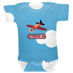 Airplane Baby Bodysuit (Personalized)