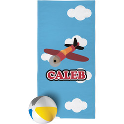 Airplane Beach Towel (Personalized)