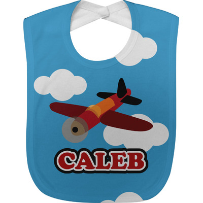 Airplane Baby Bib (Personalized)