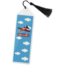Airplane Book Mark w/Tassel (Personalized)