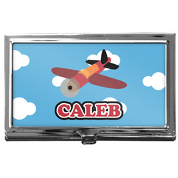 Airplane Business Card Case