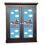 Airplane Cabinet Decal - Custom Size (Personalized)