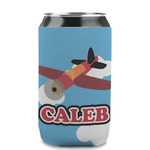 Airplane Can Sleeve (12 oz) (Personalized)