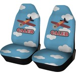 Airplane Car Seat Covers (Set of Two) (Personalized)