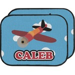 Airplane Car Floor Mats (Back Seat) (Personalized)
