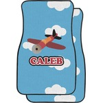 Airplane Car Floor Mats (Front Seat) (Personalized)