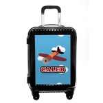 Airplane Carry On Hard Shell Suitcase (Personalized)