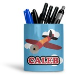 Airplane Ceramic Pen Holder