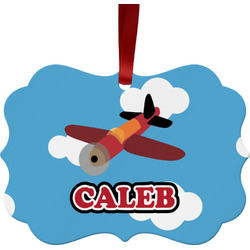 Airplane Ornament (Personalized)