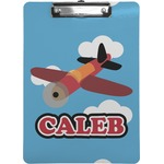 Airplane Clipboard (Personalized)