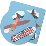 Airplane Rubber Backed Coaster (Personalized)