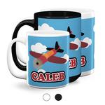 Airplane Coffee Mugs (Personalized)