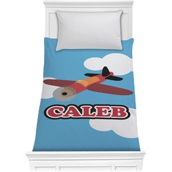 Airplane Comforter - Twin (Personalized)
