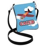 Airplane Cross Body Bag - 2 Sizes (Personalized)