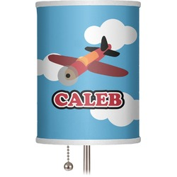 """Airplane 7"""" Drum Lamp Shade (Personalized)"""