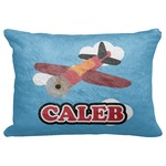 "Airplane Decorative Baby Pillowcase - 16""x12"" (Personalized)"