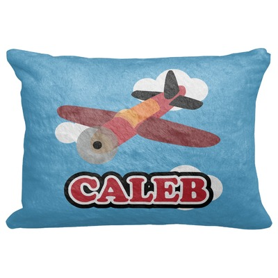 """Airplane Decorative Baby Pillowcase - 16""""x12"""" (Personalized)"""