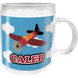 Airplane Acrylic Kids Mug (Personalized)
