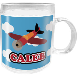 Airplane Acrylic Kids Mug (Personalized)