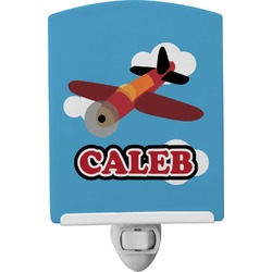 Airplane Ceramic Night Light (Personalized)