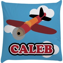 Airplane Decorative Pillow Case (Personalized)