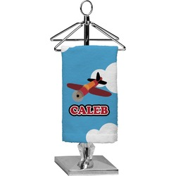 Airplane Finger Tip Towel - Full Print (Personalized)
