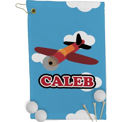 Airplane Golf Towel - Full Print (Personalized)