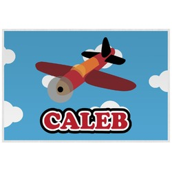 Airplane Laminated Placemat w/ Name or Text