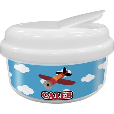 Airplane Snack Container (Personalized)