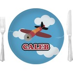 Airplane Glass Lunch / Dinner Plates 10