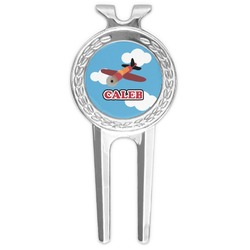 Airplane Golf Divot Tool & Ball Marker (Personalized)