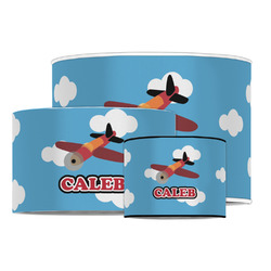 Airplane Drum Lamp Shade (Personalized)