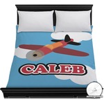 Airplane Duvet Cover (Personalized)