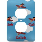 Airplane Electric Outlet Plate (Personalized)
